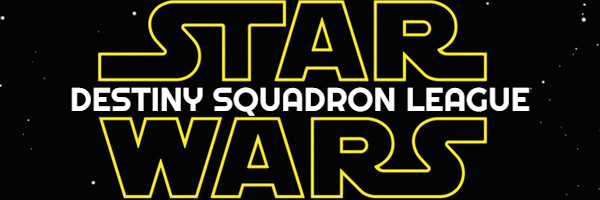 Star Wars Destiny Squadron League